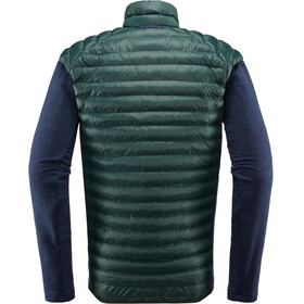 Haglöfs Mimic Hybrid Jacket Men Mineral/Tarn Blue